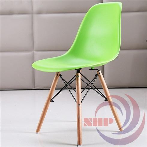 ghế mặt nhựa chân gỗ bgcf-gnh05