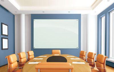 bảng kính văn phòng 1.2 x  1.4m