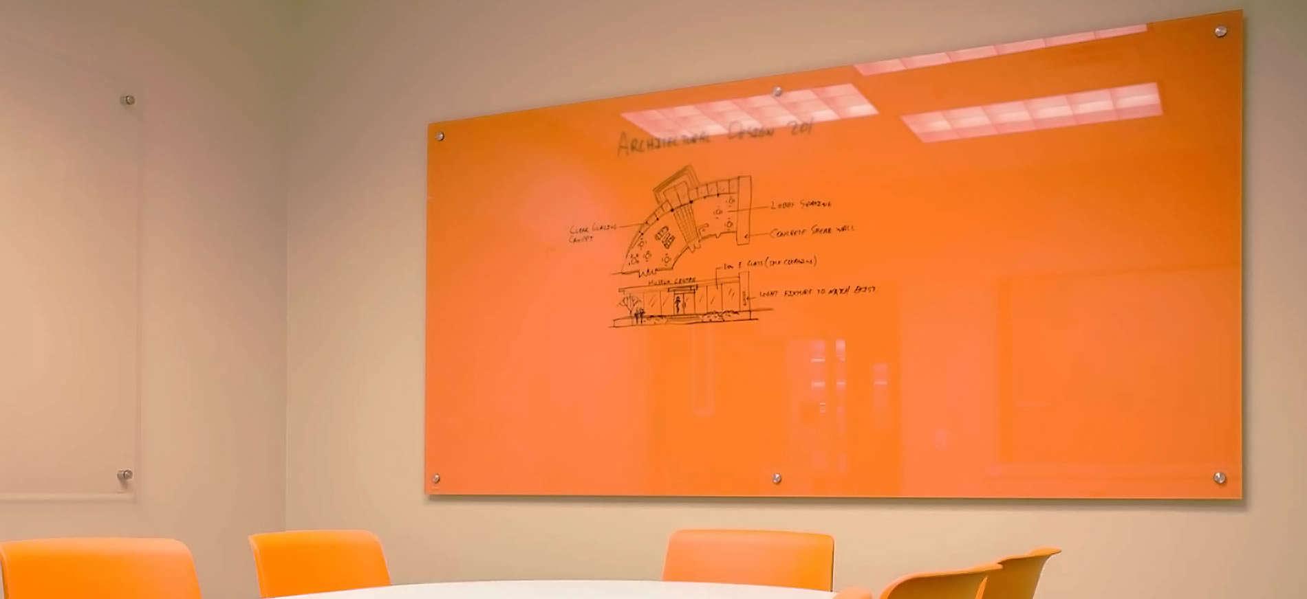 bảng kính cường lực màu 1.2 x 0.8m