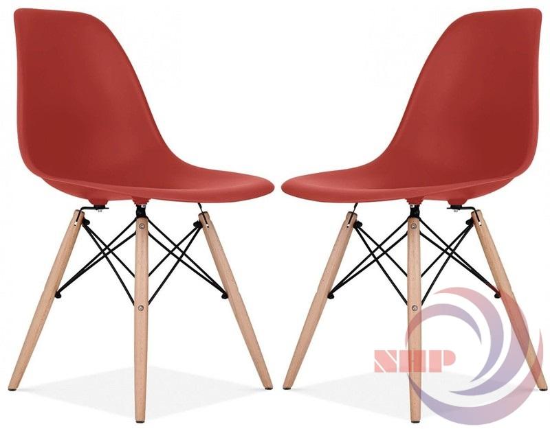 ghế mặt nhựa chân gỗ bgcf-gnh08